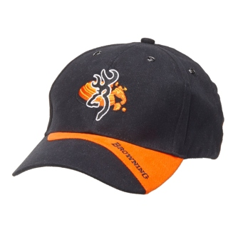 Browning Claybuster Black Orange Cap