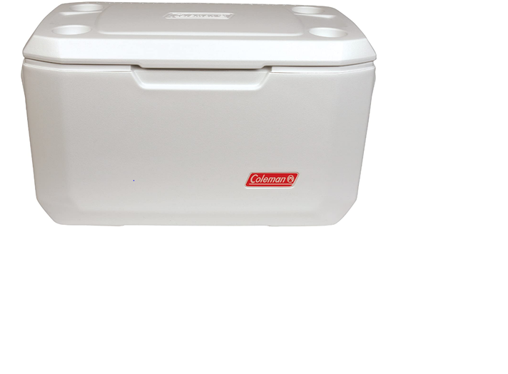 COLEMAN 70 QT ICE BOX MARINE WHITE