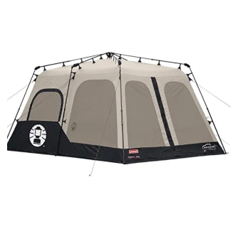 COLEMAN INSTANT TENT 10 x 8 6 PERSONS