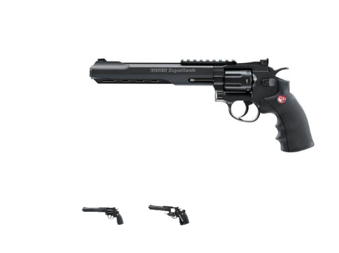 Ruger Superhawk Black Revolver 6mm BB